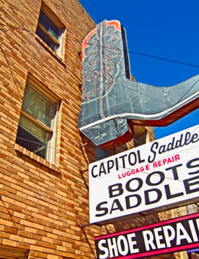 Capitol Saddlery by Jann Alexander © 2011