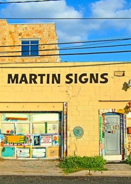 Martin's Signs Off by Jann Alexander © 2011