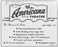 American Theatre Ad, Austin History Center