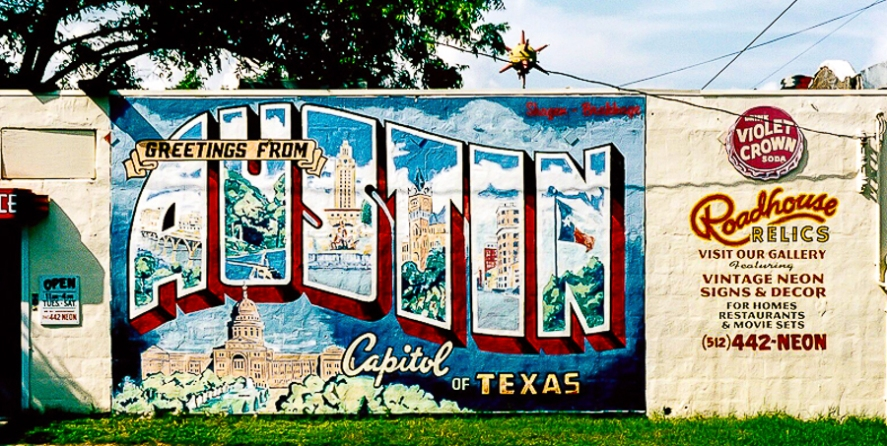 Greetings from Austin by Jann Alexander © 2004